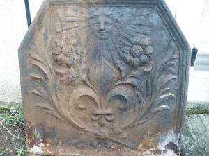 Plaque De Cheminée Fleur De Lys Marguerite Roi Soleil Xctwwi0l-10042308-585160565