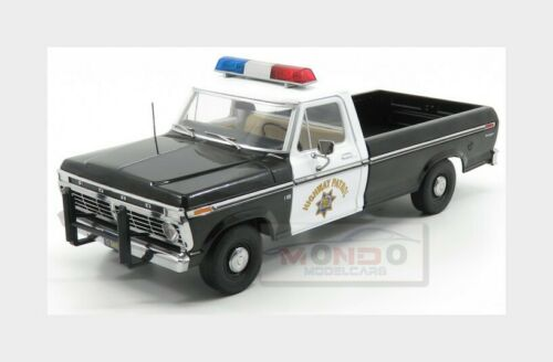 Ford F-100 Police California Highway Patrol 1975 GREENLIGHT 1:18 GREEN13550 Mode