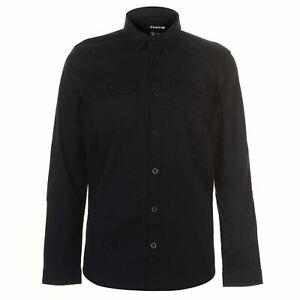Firetrap-Shacket-Mens-Gents-Overshirts-Lightweight-Full-Length-Sleeve-Chest
