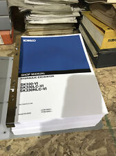 Kobelco SK330-VI, SK330LC-VI,SK330NLC-VI Hydraulic Excavator Shop Service Manual