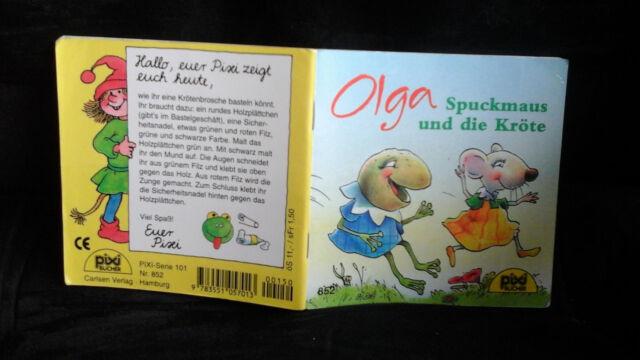 """Pixi Buch """"Olga Spuckmaus und die Kröte"""" 852"""