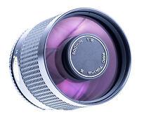 Tokina RMC 500 mm f 8 mit Minolta SR Anschluss SN : 8130103 Naheinstellgr. 1,5m