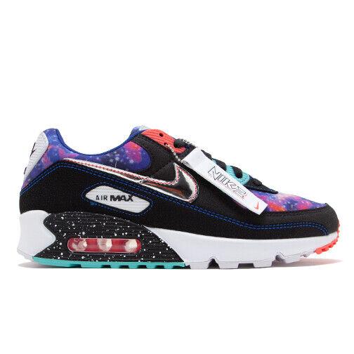 Size 10 - Nike Air Max 90 Galaxy Black/Multicolor/White for sale ...