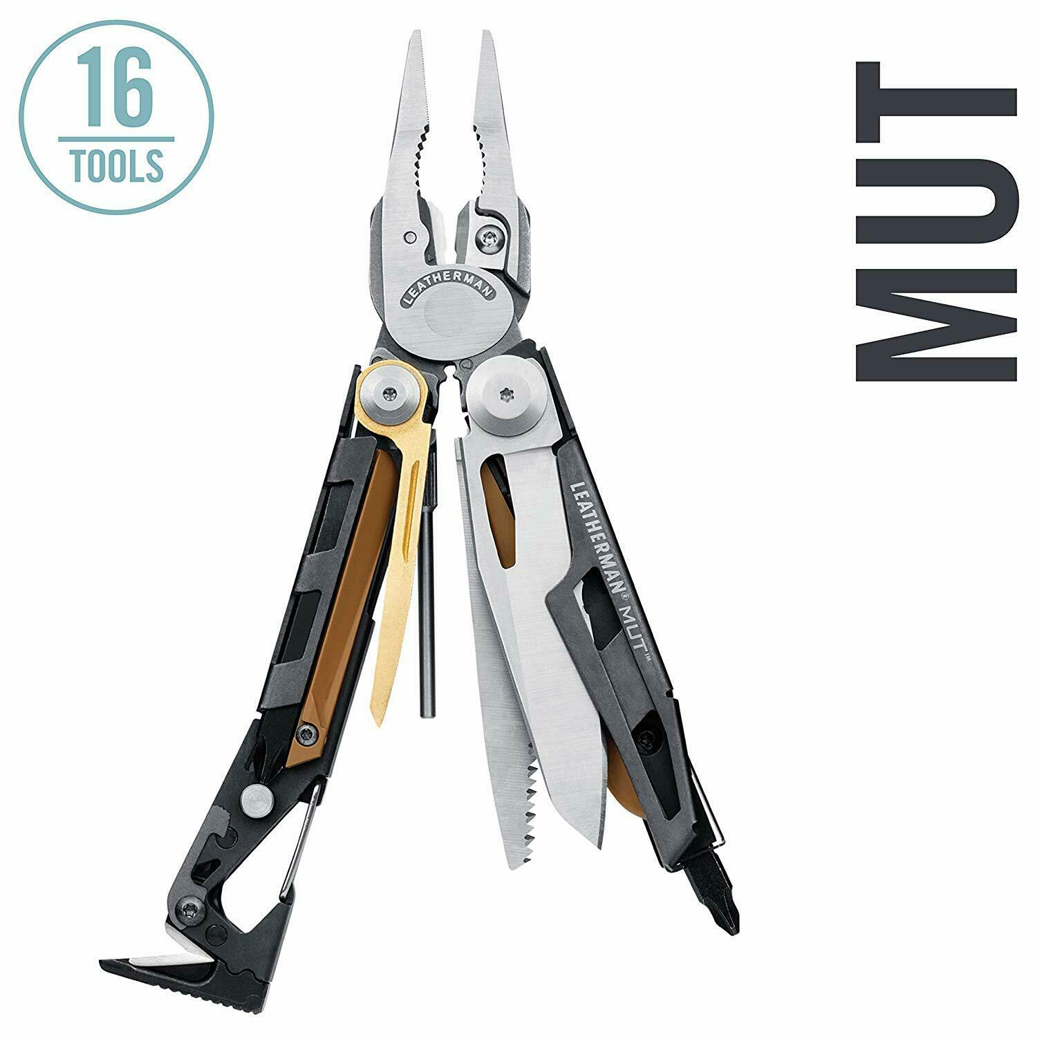 LEATHERMAN 850112 MUT Multitool with  Premium Replaceable Wire Cutters  the best selection of