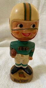 VINTAGE-1960s-AFL-NFL-NEW-YORK-JETS-BOBBLEHEAD-NODDER-BOBBLE-HEAD