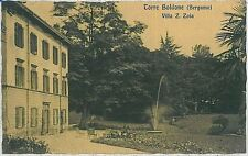 CARTOLINA d'Epoca BERGAMO  - Torre Boldone