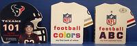 Houston Texans 101, Nfl First Colors Book & Nfl Abc First Alphabet Book - 3 Bbs