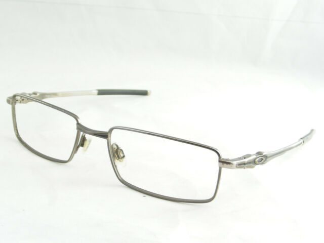 Oakley Chisel 2.0 Spring Hinged Pewter Sunglass Eyeglass Frames