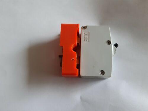 WYLEX 40A Type B Push//Plug-In Circuit Breaker ~B40 40 Amp MCB ~Inc Orange Base