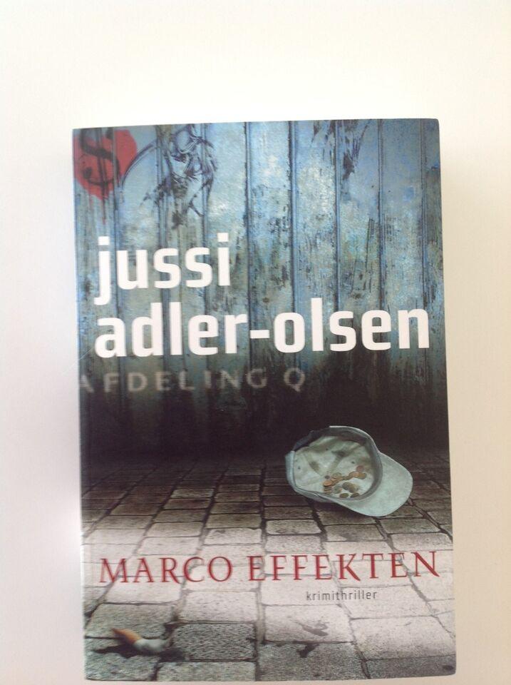 Marco Effekten, Jussi Adler-Olsen, genre: krimi og