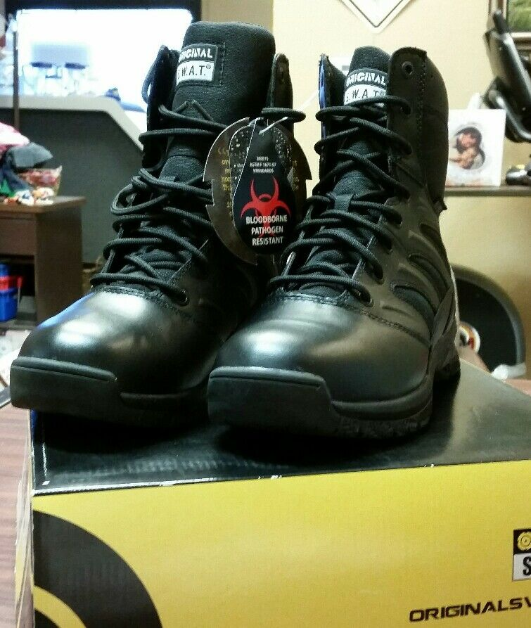 Original S.W.A.T. SWAT Force 8   Waterproof  Men's Tactical Boots  152001  fast shipping