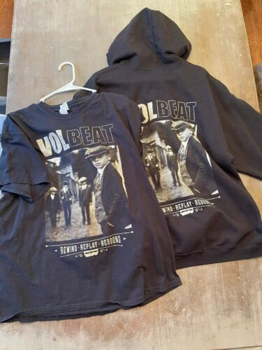 Volbeat Rewind Replay Rebound T-Shirt & Hoodie Com