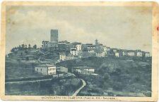 MONTECATINI VAL DI CECINA - PANORAMA (PISA) 1950
