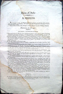 1813-NASCONO-BORSE-DI-STUDIO-UNIVERSITARIE-DOCUMENTO-NAPOLEONICA-FORLIVESE