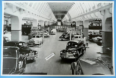 """1946 Ford Prototype Of Several Models 12 x 18"""" Black & White Picture"""