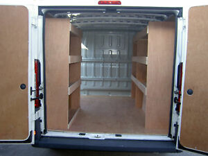 Details about Fiat Ducato SWB Van Plywood Racking,Storage,Racks DIY, Tool  Storage Ideas
