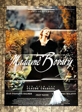CLAUDE CHABROL * MADAME BOVARY - A1-FILMPOSTER -Ger 1-Sheet ´91 ISABELLE HUPPERT