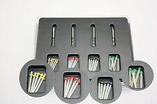 20Pcs /1 Box Durable Dental Fiber Set Fiber Post & 4 Drills Dentist Product