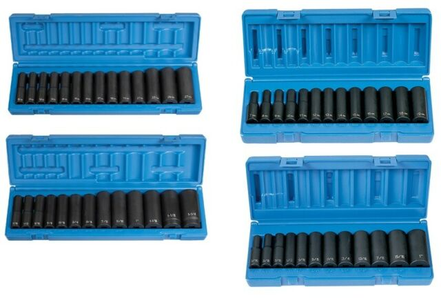 Grey Pneumatic 13 Pc 3//8/'/' Drive Deep Length Metric Socket Set 1213MD