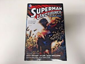 Superman-Unchained-Deluxe-Edition-TPB-by-Scott-Snyder-Hardcover-Excellent