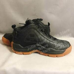 huge discount 10783 2c7cc Image is loading New-FILA-The-96-Quilted-Shoes-Dope-Black-