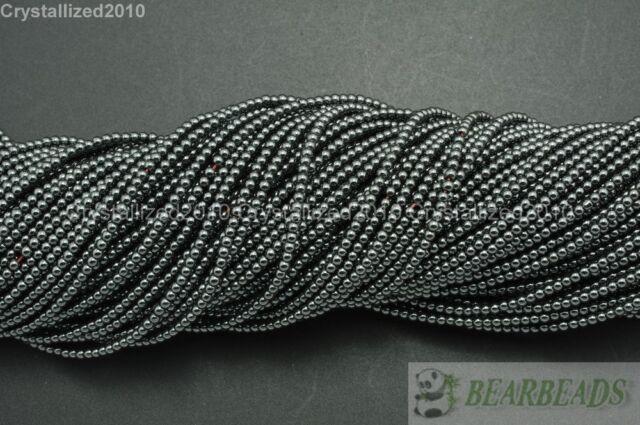 Natural Gemstones Round Beads 2mm 3mm Crystal Quartz Jasper Agate Lapis 15.5''