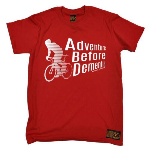 Cycling Adventure Before Dementia bicycle cycle funny Birthday T SHIRT T-SHIRT