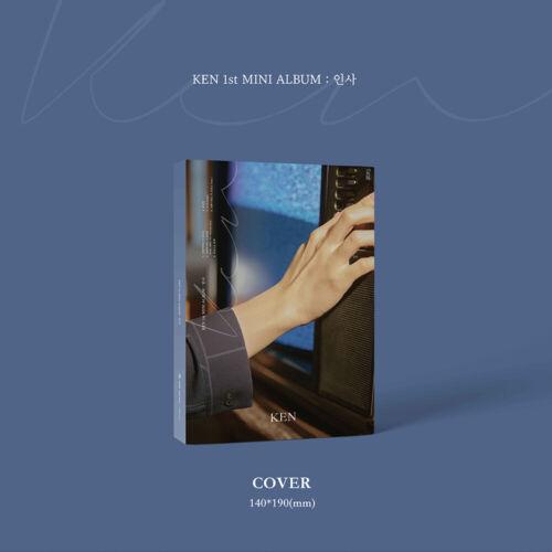 KEN VIXX 1st MINI Album +Photobook+Photocard+Poster Greeting