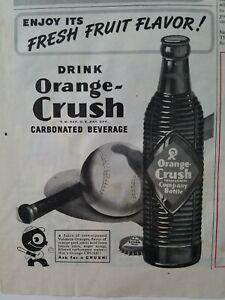 1945-drink-Orange-Crush-carbonated-beverage-soda-ribbed-bottle-vintage-ad