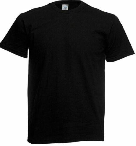 3,10,12 Pack Fruit of the Loom Mens Short Sleeve Original Tee Crew Neck Tshirt