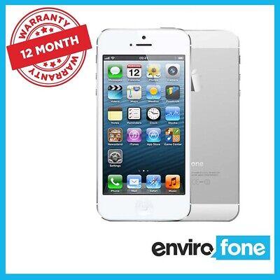 Apple iPhone 5 16GB 32GB 64GB Black White Unlocked Refurbished Smartphone