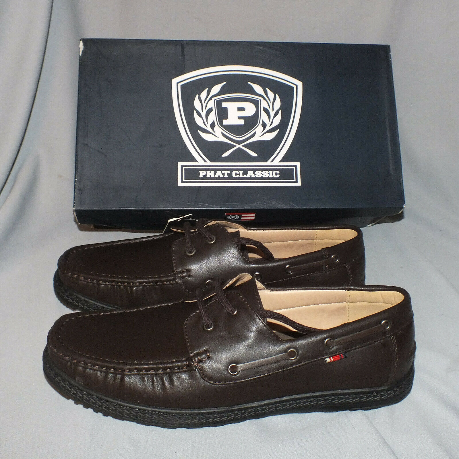 Phat Farm Classic Casual Maddox Loafer Brown Size 12M
