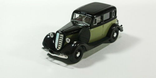 GAZ-M1 Taxi 1936. black and grey scale model cars 1:43