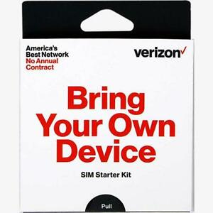 Details about Preloaded Verizon Wireless SIM card $40 talk text 3GB fast  activation service 4G