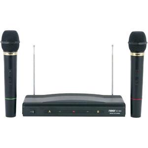 Naxa-Professional-Dual-Wireless-Microphone-Kit-w-Wireless-Receiver