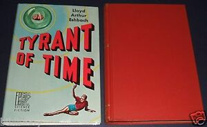 1955-First-Edition-in-Dust-Jacket-of-Tyrant-of-Time-by-Eshbach-Fantasy-Press