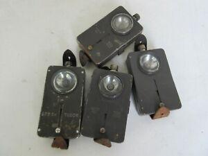 WWII WK2 Taschenlampe M40 Pocket Light Lamp WH Style für Stahlhelm uvm
