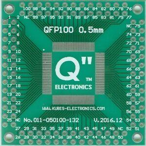Adaptateur Pcb Qfp100,tqfp100,lqfp100,vqfp100 0.50mm à 4 X Idc2x13. [fr] Pour AméLiorer La Circulation Sanguine