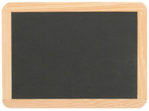 Schreibtafel  22x29 cm Schultafel Kreidetafel Schiefertafel echter SCHIEFER