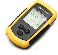 Usd - Lcd Portable Fish Finder - W/ Alarm 100m Fd01