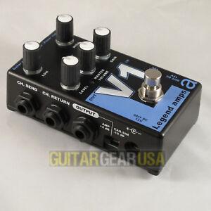 AMT-Electronics-Guitar-Preamp-V-1-Pedal-Legend-Series-emulates-VOX-AC30-amp