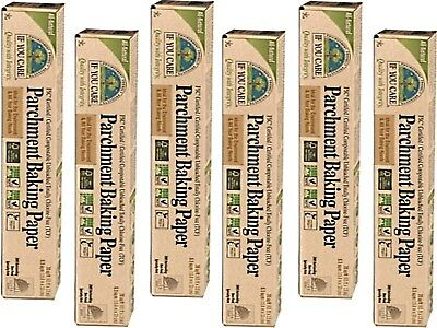 Analytical 6 X If You Care Parchment Baking Paper Rolls 19.8m X 33cm Utmost In Convenience Total 6 Rolls
