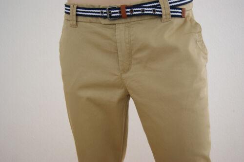 Esprit donna pantaloni leggeri cotone Mix-Stretch-Chino NUOVO cintura
