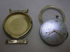 Men's Hamilton Electric Gold Filled Watch 505 Solid Lugs Not Working