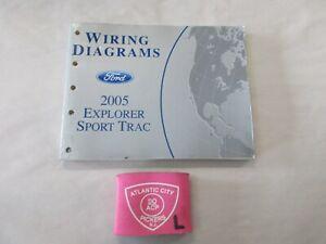 2005 FORD EXPLORER SPORT TRACK ELECTRICAL WIRING DIAGRAMS SERVICE MANUAL |  eBayeBay