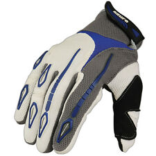 Motocross Gloves Racing Cycling Enduro MTB Mountain Bike MX Off-Road Blue 3655 M