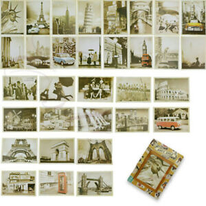 32pcs-travel-postcard-vintage-landscape-building-photo-picture-poster-post-card