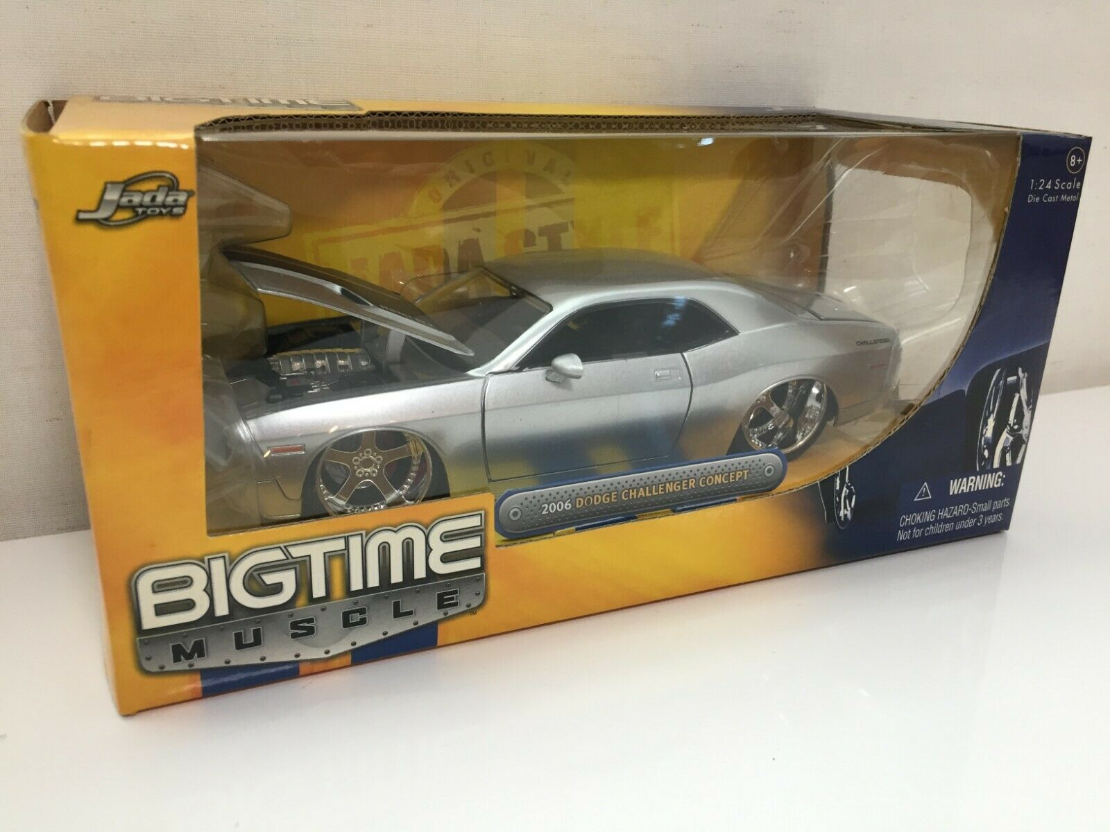 Very RARE NEW Jada Toys BIGTIME 2006 DODGE CHALLENGER CONSEPT Japan F S 1 24