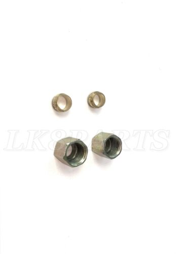 Land Rover Range Rover Discovery Defender Set x4 Fuel Pump Olive Union Nuts New