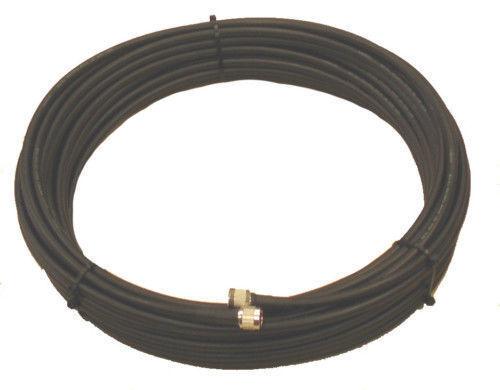 LMR400 equiv 3com  RFC400 Coax 100 feet PL259s low loss antenna cable
